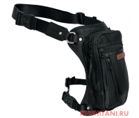 Мотосумка на бедро KUSHITANI 2WAY LEG BAG, Black